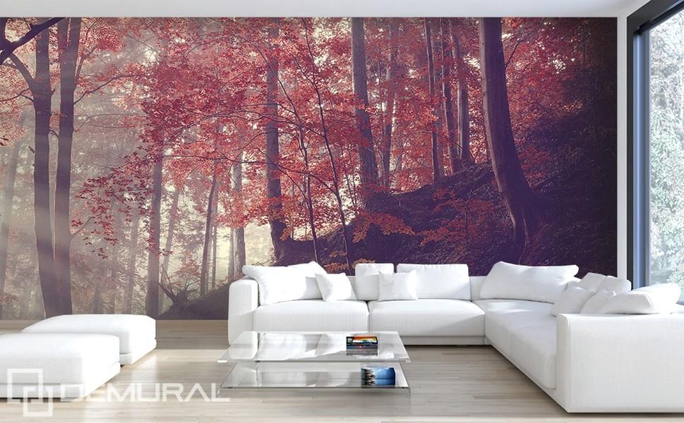 65 desain wallpaper dinding ruang tamu minimalis terbaru for Mural yang cantik