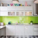 Desain Dapur Minimalis Mungil Sederhana Dapur Minimalis Terbuka Modern Type 2x2 Warna Cat HijauTerbaru