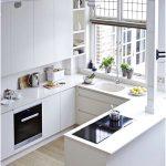 Desain Dapur Minimalis Mungil Sederhana Type 2x2 Warna Cat Putih Dapur Minimalis Terbuka Terbaru