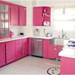 Desain Dapur Minimalis Mungil Sederhana Type 2x2 Warna Cat Ungu Putih Dapur Minimalis Terbuka Terbaru