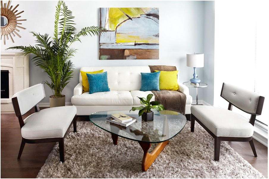 44 desain ruang tamu minimalis kecil sederhana dan mewah for Living room designs for big spaces
