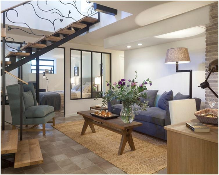 Desain Ruang tamu minimalis kecil sempit unik mewah sederhana terbaru