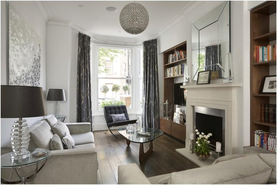 Desain Ruang tamu sempit minimalis terbaru