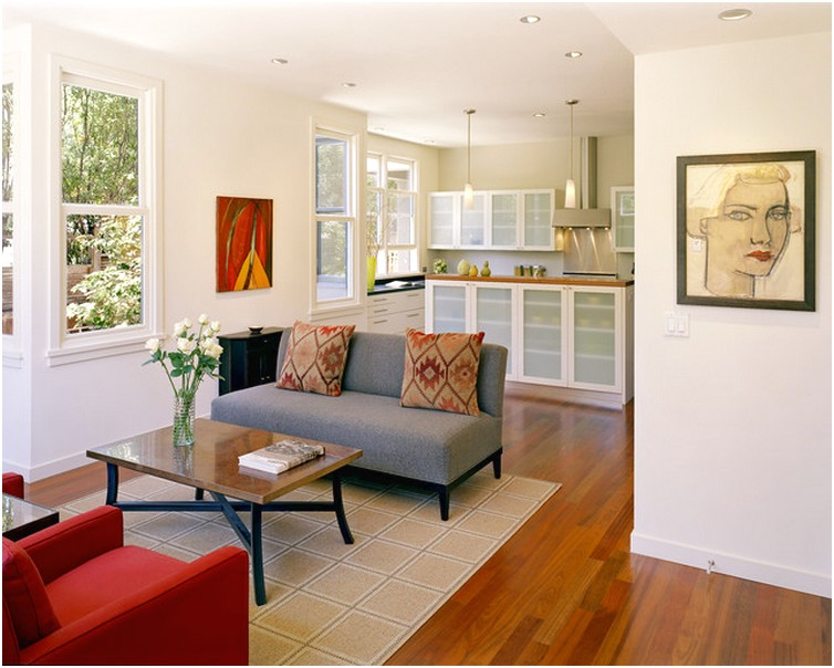 Desain Ruang tamu sempit minimalis unik modern sederhana cantik terbaru