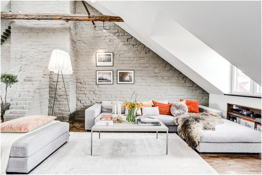 Desain Ruang tamu sempit minimalis unik modern terbaru