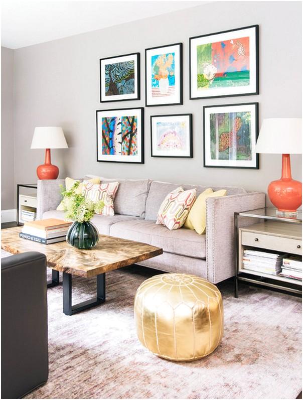 Desain Unik Ruang tamu sempit minimalis mungil kecil modern terbaru