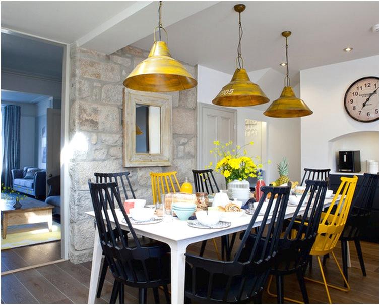 Desain ruang makan dan dapur minimalis mewah biasa sederhana