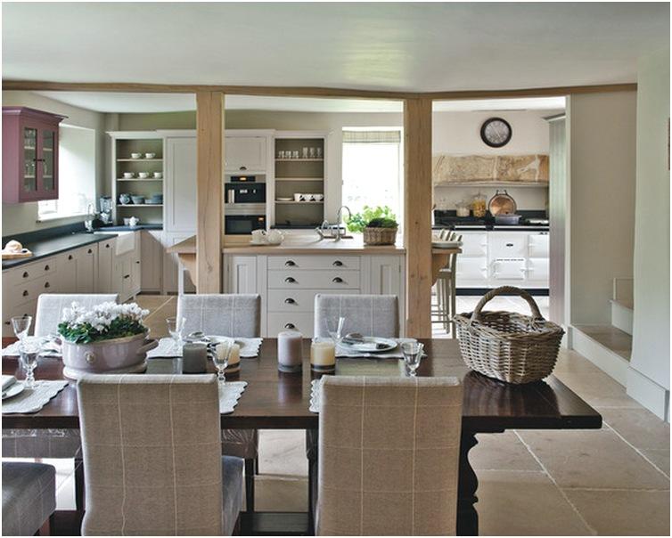 Desain ruang makan dan dapur minimalis mewah sederhana