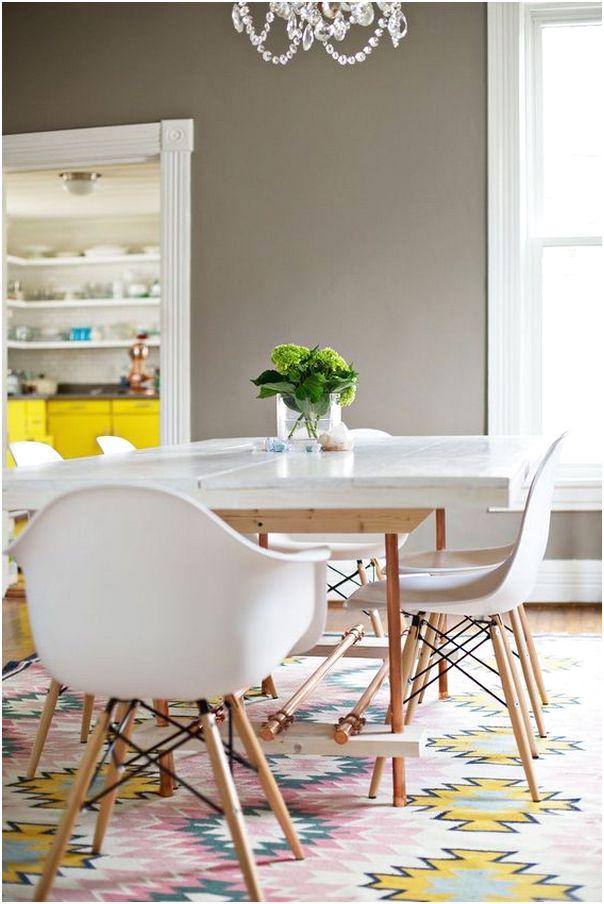 Desain ruang makan dan dapur minimalis sederhana mewah terbaru
