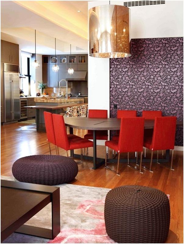 Desain ruang makan dan dapur minimalis sederhana mewah