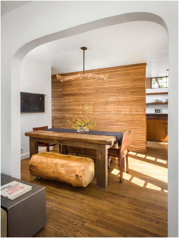 Desain ruang makan kecil mewah dan dapur sederhana terbaru
