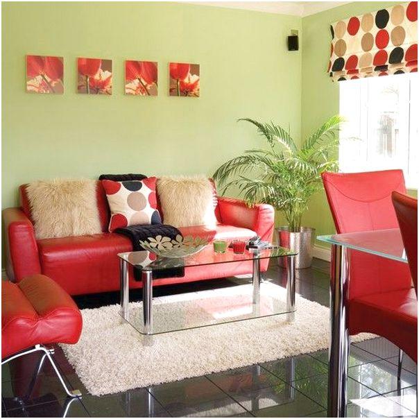 Desain ruang tamu minimalis kecil mungil sempit sederhana mewah biasa warna merah 3x3 terbaru