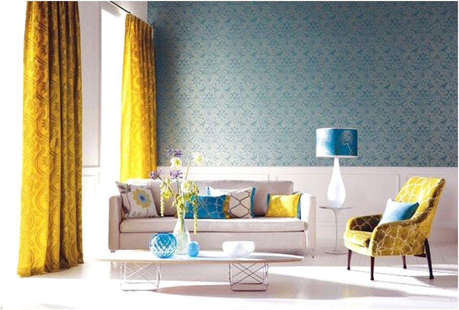 Desain ruang tamu minimalis kecil mungil sempit unik mewah sederhana biasa warna kuning 3x3 terbaru