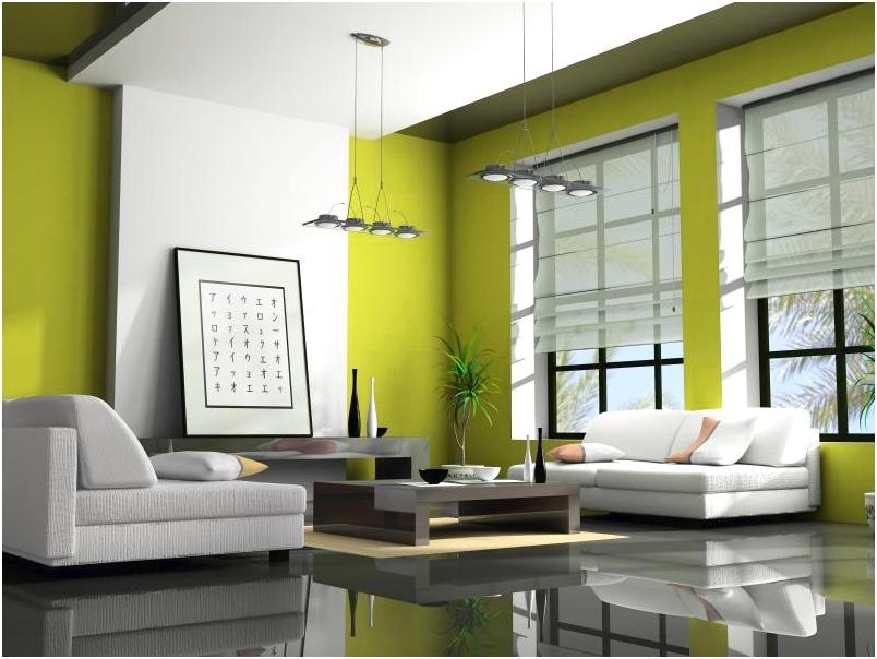 Desain ruang tamu minimalis mungil sempit kecil unik mewah sederhana biasa warna hijau 3x3 terbaru