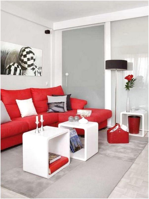 Desain Ruang Tamu Minimalis Sempit Kecil Mungil 3x3 Sederhana Mewah Biasa Warna Merah Terbaru