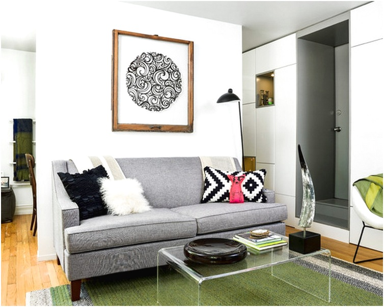 Desain ruang tamu minimalis sempit kecil mungil sederhana mewah biasa terbaru