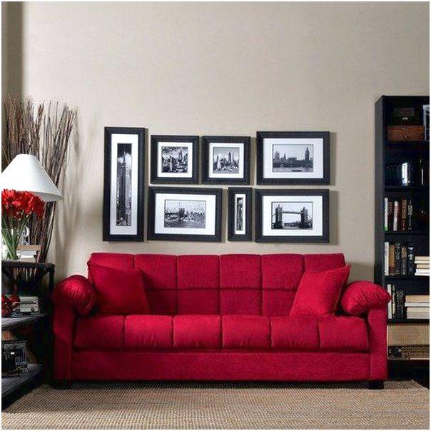 Desain ruang tamu minimalis sempit kecil mungil sederhana mewah biasa warna merah 3x3 terbaru