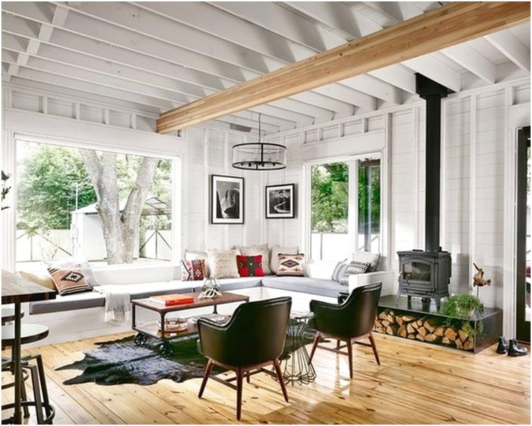 Desain ruang tamu sempit minimalis mewah unik sederhana terbaru