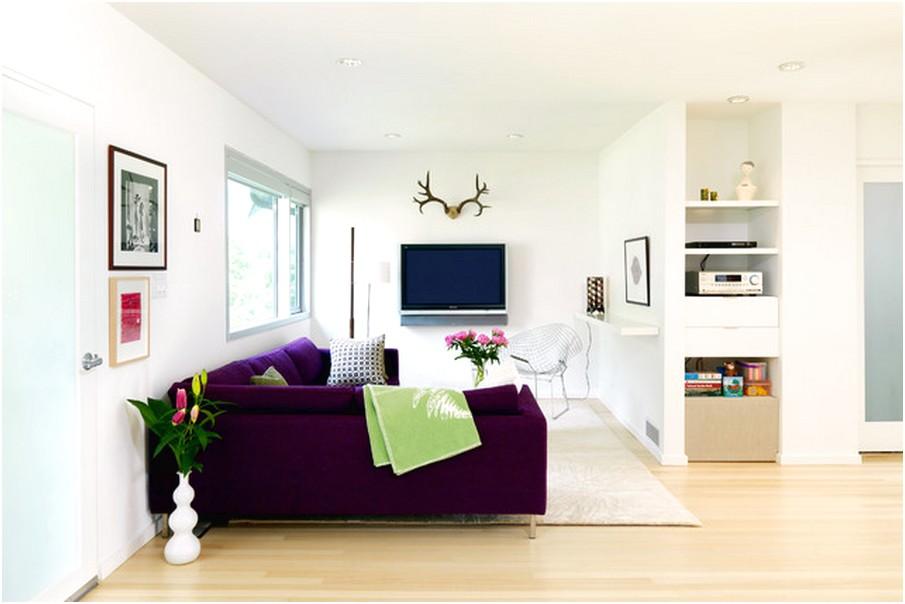 Desain ruang tamu sempit minimalis mungil sederhana modern terbaru