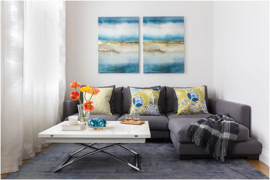 Desain ruang tamu sempit minimalis mungil sederhana terbaru