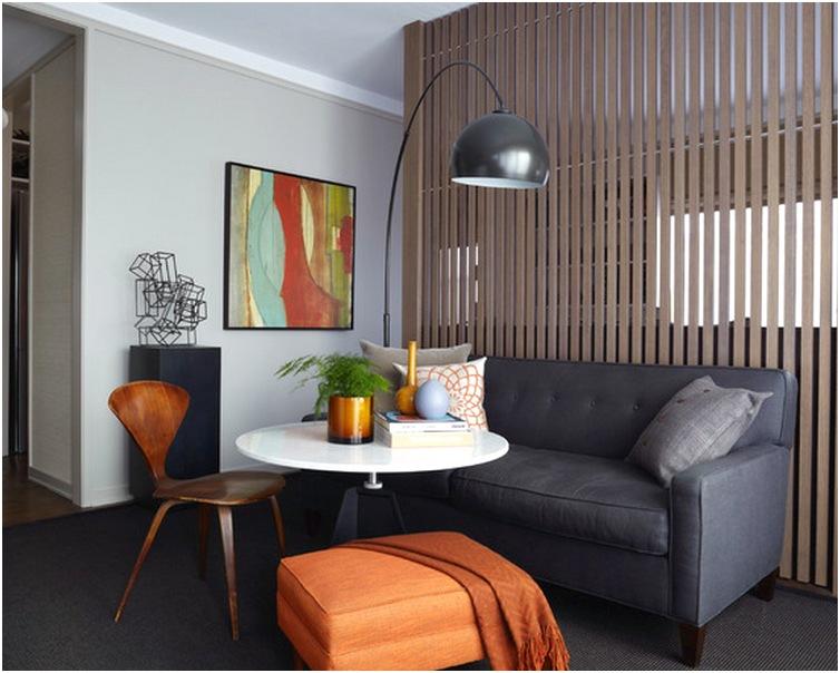 Desain ruang tamu sempit minimalis unik mewah sederhana cantik terbaru