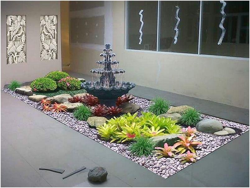 Desain taman belakang rumah minimalis model baru