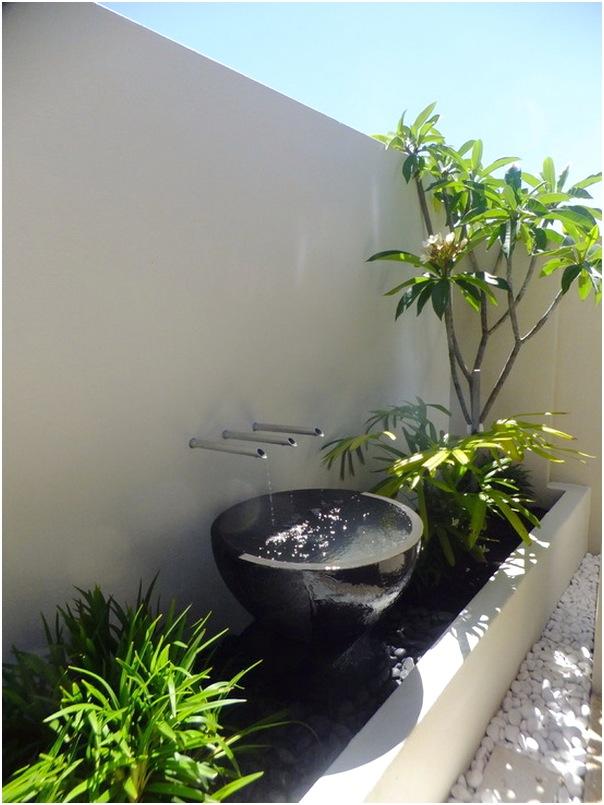 Desain taman kecil depan rumah sederhana modern terbaru
