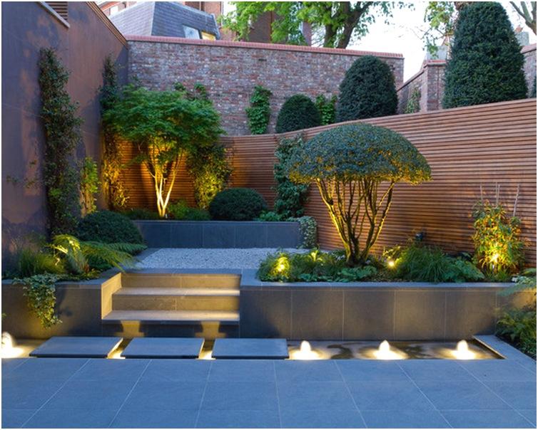 Desain taman kecil depan rumah terbaru