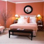 Ide desain kamar tidur kecil minimalis sederhana pink
