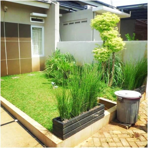 Ide taman depan rumah minimalis kecil sederhana modern lahan sempit terbaru