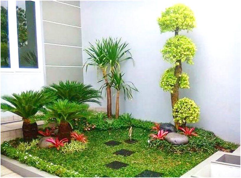 Konsep taman depan rumah minimalis sederhana modern lahan sempit terbaru