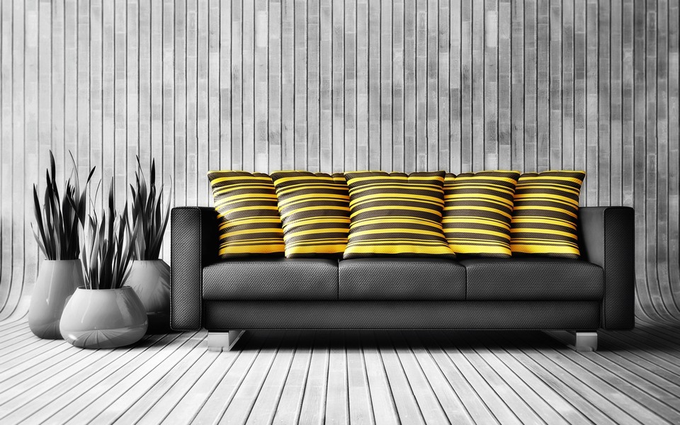 Luar Biasa Desain Wallpaper Dinding Ruang Tamu Minimalis Motif Garis Elegan Mewah Nyaman Modern Terbaru
