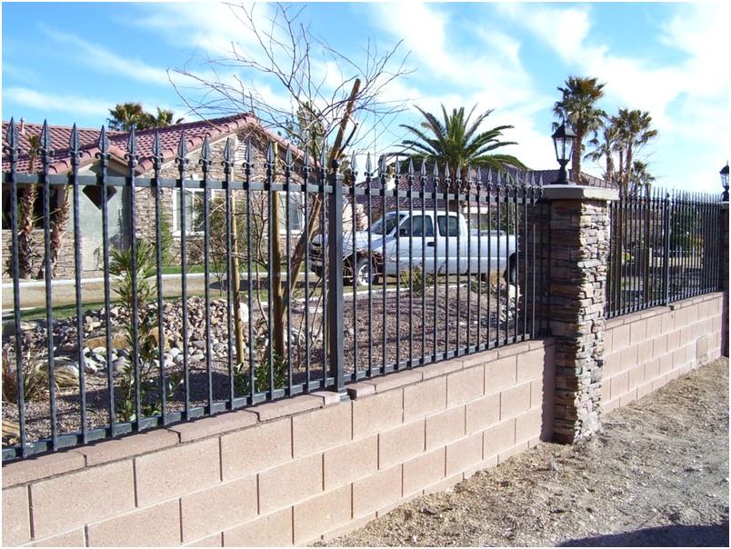 Luar biasa model desain pagar rumah minimalis cantik batu alam modern mewah terbaru