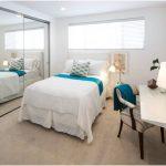Model desain kamar tidur kecil minimalis sederhana putih terbaru
