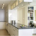 Modern Desain Dapur Minimalis Mungil Sederhana Modern Type 2x2 Dapur Minimalis Terbuka Warna Cat putih Terbaru