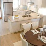 Modern Desain Dapur Minimalis Mungil Sederhana Type 2x2 Warna Cat Putih Dapur Minimalis Terbuka Terbaru