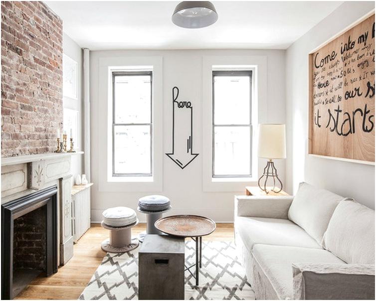Ruang tamu sempit minimalis mungil kecil unik mewah sederhana biasa terbaru