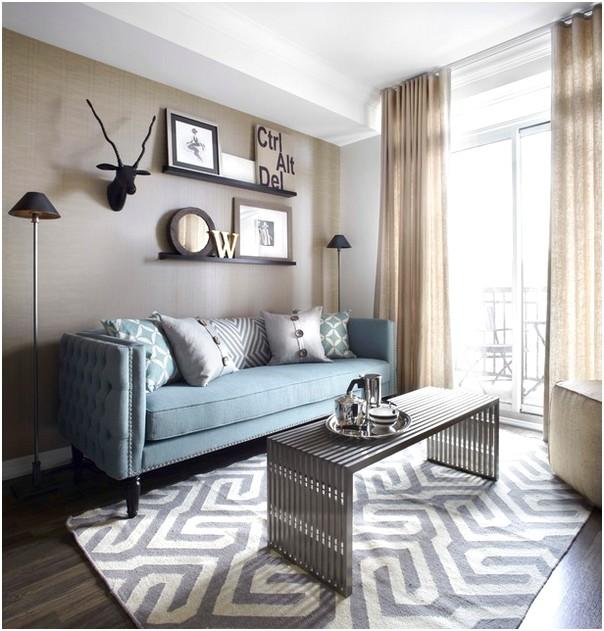 Ruang tamu sempit minimalis terbaru