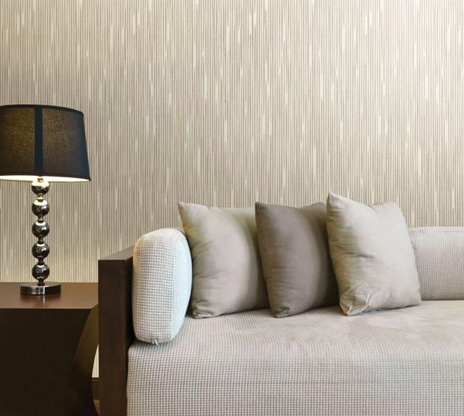 65 desain wallpaper dinding ruang tamu minimalis terbaru for Living room wallpaper texture