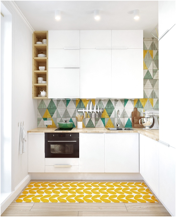 Unik Desain Dapur Minimalis Mungil Sederhana Modern Warna Cat Putih Terbaru