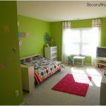 desain kamar tidur kecil minimalis sederhana anak anak perempuan remaja hijau terbaru