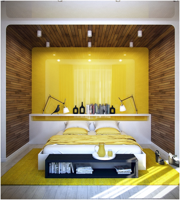 45 desain kamar tidur sempit minimalis sederhana terbaru for Dekor kamar hotel