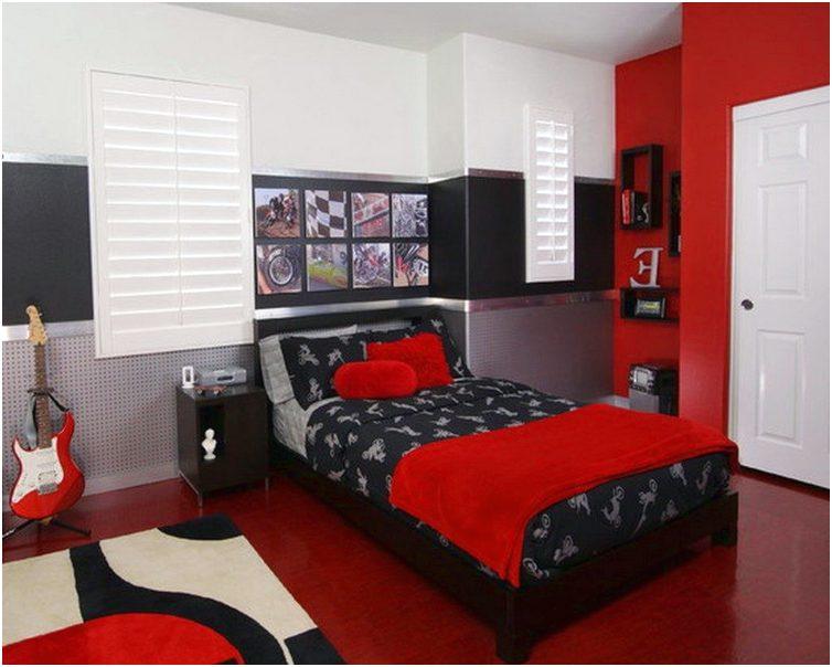 Bilik Tidur Warna Merah Desainrumahid