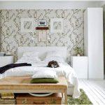 desain kamar tidur kecil minimalis sederhana putih wallpaper kamar tidur modern terbaru