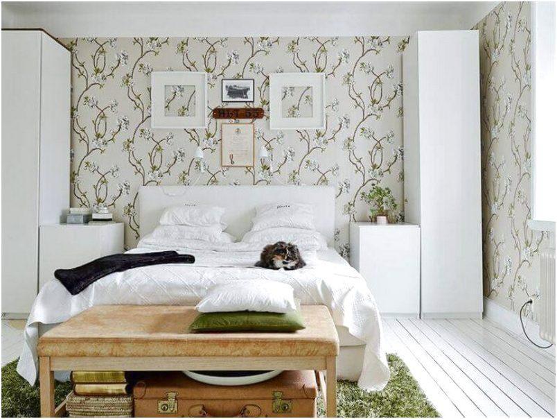 Desain R Tidur Kecil Minimalis Sederhana Putih Wallpaper Modern Terbaru