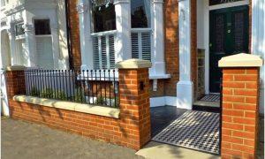 desain pagar rumah minimalis cantik rapi menawan elegan mewah modern terbaru