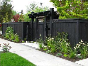 65 model desain pagar rumah minimalis modern klasik