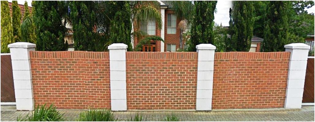 desain pagar tembok rumah minimalis mewah modern klasik elegan nyaman terbaru