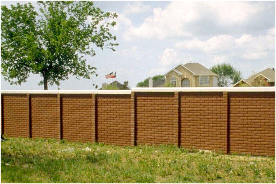desain pagar tembok rumah minimalis mewah modern terbaru