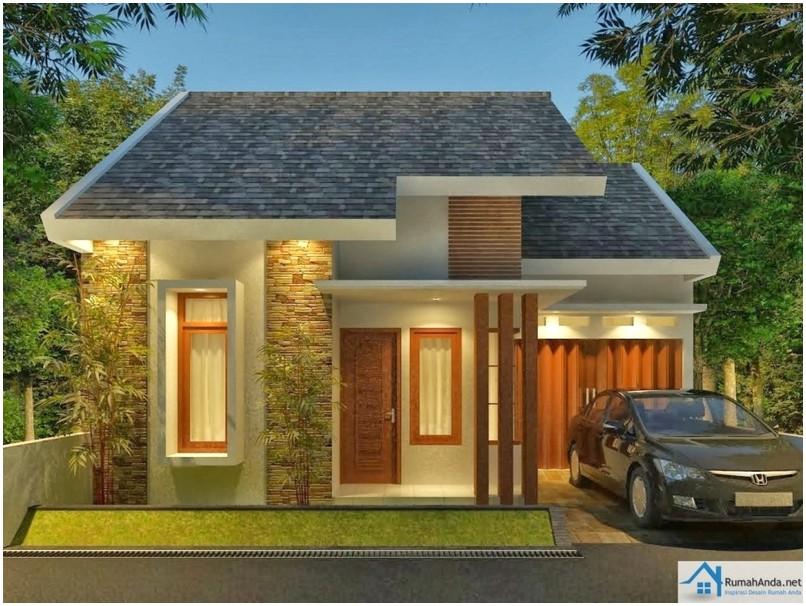 Desain Rumah Minimalis 1 Lantai Exotic Masa Kini Nuansa Tropis